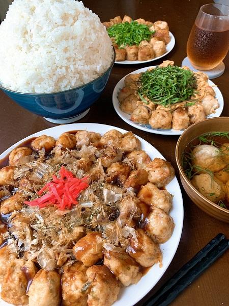 「たこ焼きはおかず」 大食い主婦がたこ焼き100個と山盛りご飯完食で確認
