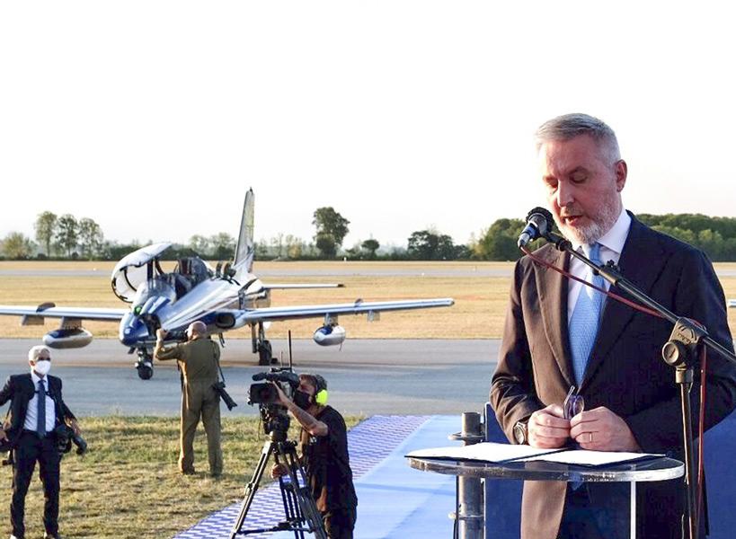 ゲリーニ国防大臣(Image:イタリア空軍)