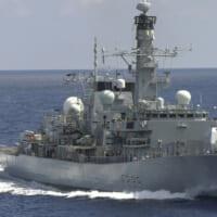 イギリス海軍フリゲートが台湾海峡を通過 北朝鮮の国連決議違反…