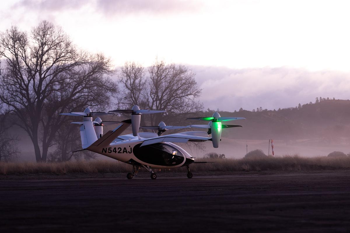 地上でのeVTOL(Image:Joby Aviation)
