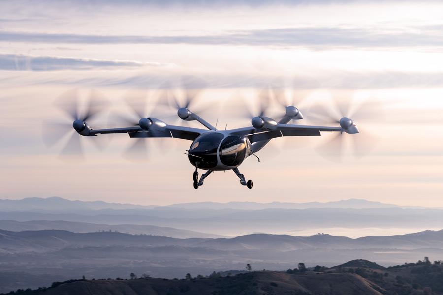 JobyのeVTOLは6つのプロップモーターを持つティルトローター機(Image:Joby Aviation)