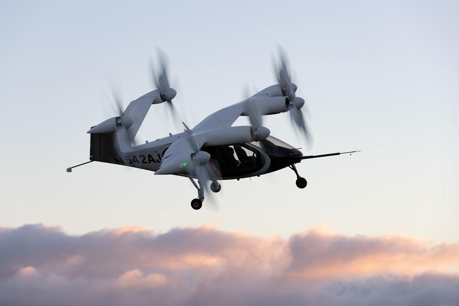 飛行するJobyのeVTOL(Image:Joby Aviation)