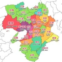 呼び方ひとつで変わる地図の顔 「近畿地方の地域別人口マップ」が反響