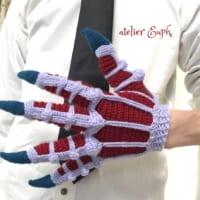 お待たせしましたスゴイやつ かぎ針編み作家が「鬼の手」を作っ…