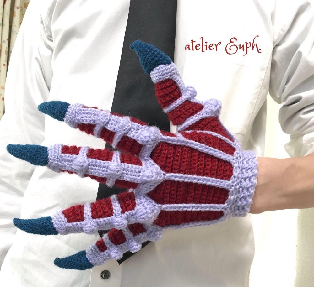 お待たせしましたスゴイやつ かぎ針編み作家が「鬼の手」を作ってみた