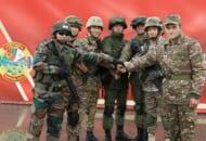 共同訓練「ザーパト2021」に参加する7か国の兵士(Image:ロシア国防省)