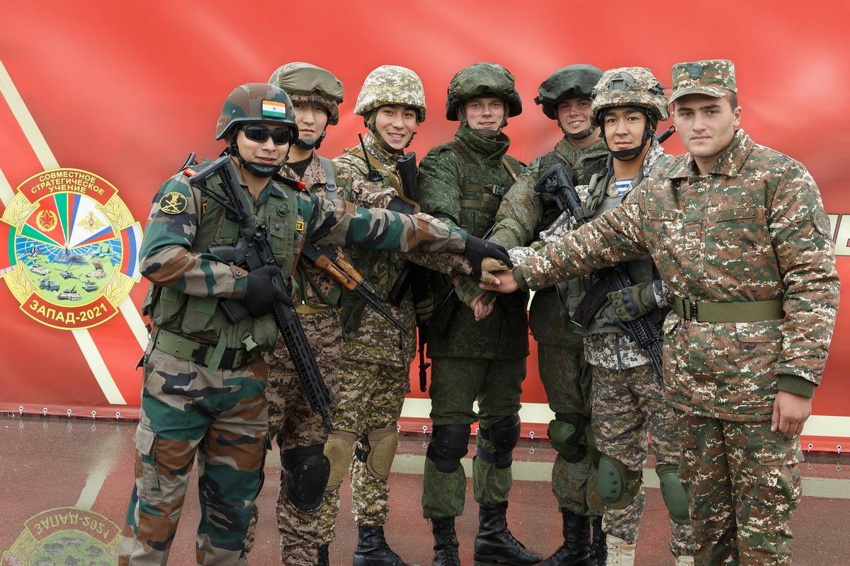 ロシアとベラルーシで7か国参加の大規模共同訓練「ザーパト2021」始まる