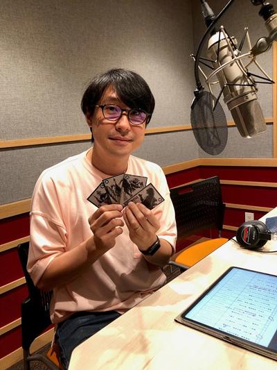 読み上げ音声を担当した声優の鈴村健一さん