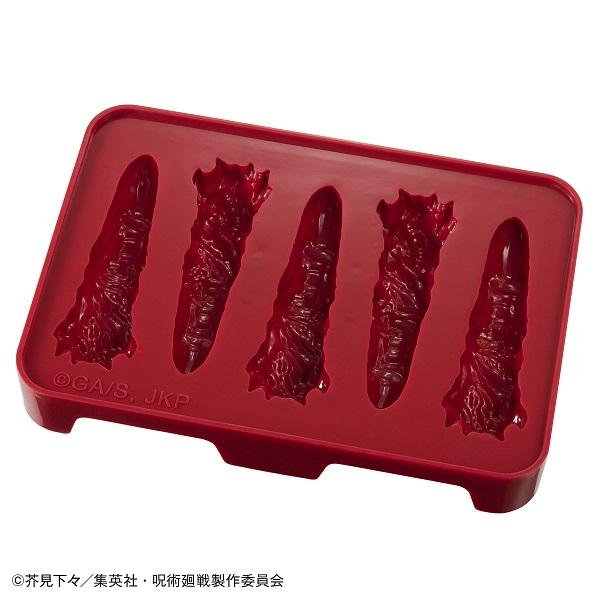 宿儺の指型のチョコレートを作成することができるチョコレート型