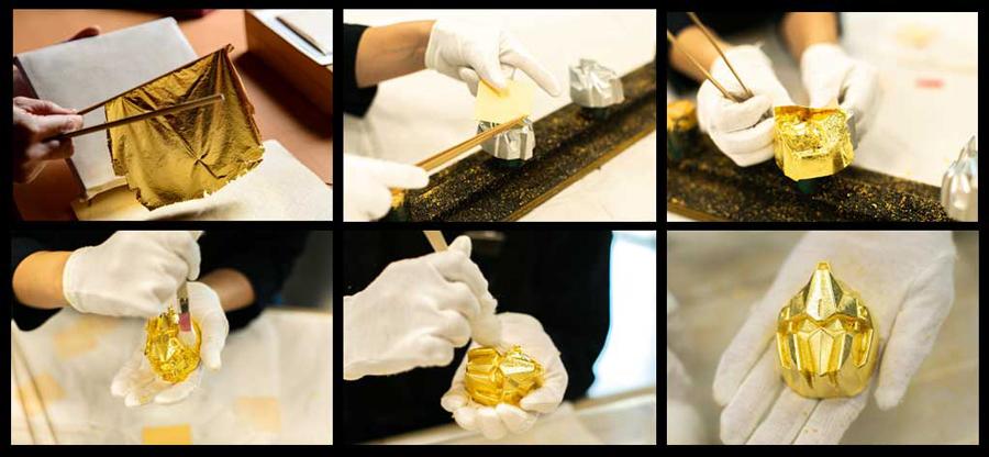 石川県の伝統工芸「金沢金箔」の本金箔が施された商品