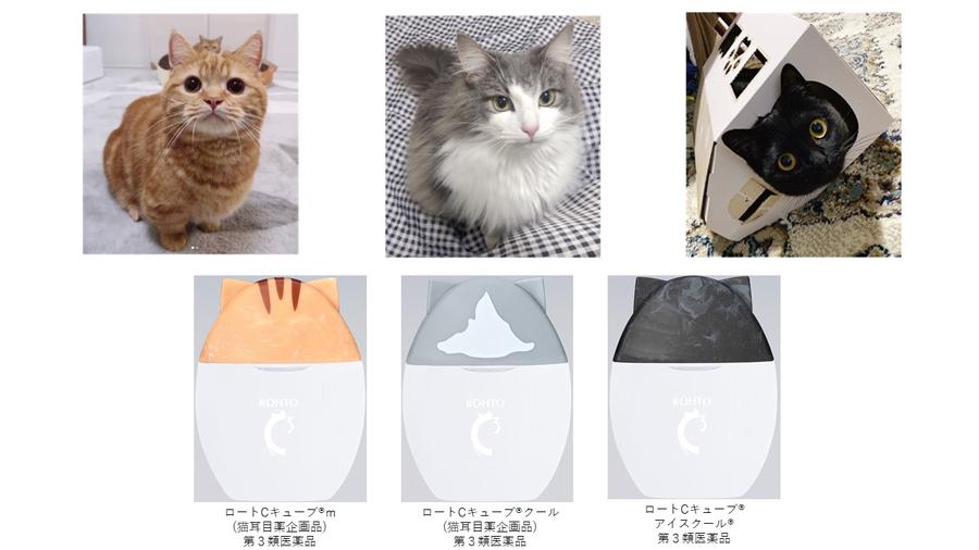 実際の猫をモデルにデザイン