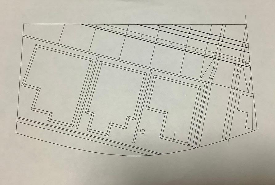 平面の設計図(Ruinsさん提供)