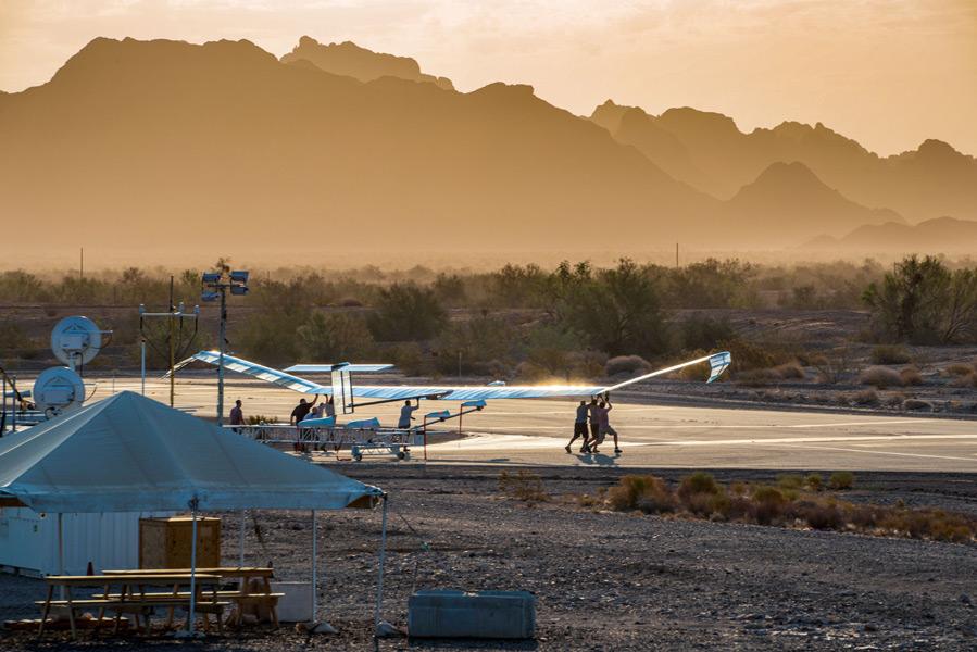 離陸するゼファーS(画像:Airbus)