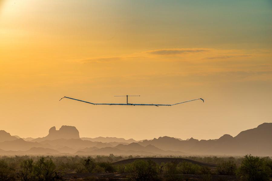 飛行するゼファーS(画像:Airbus)