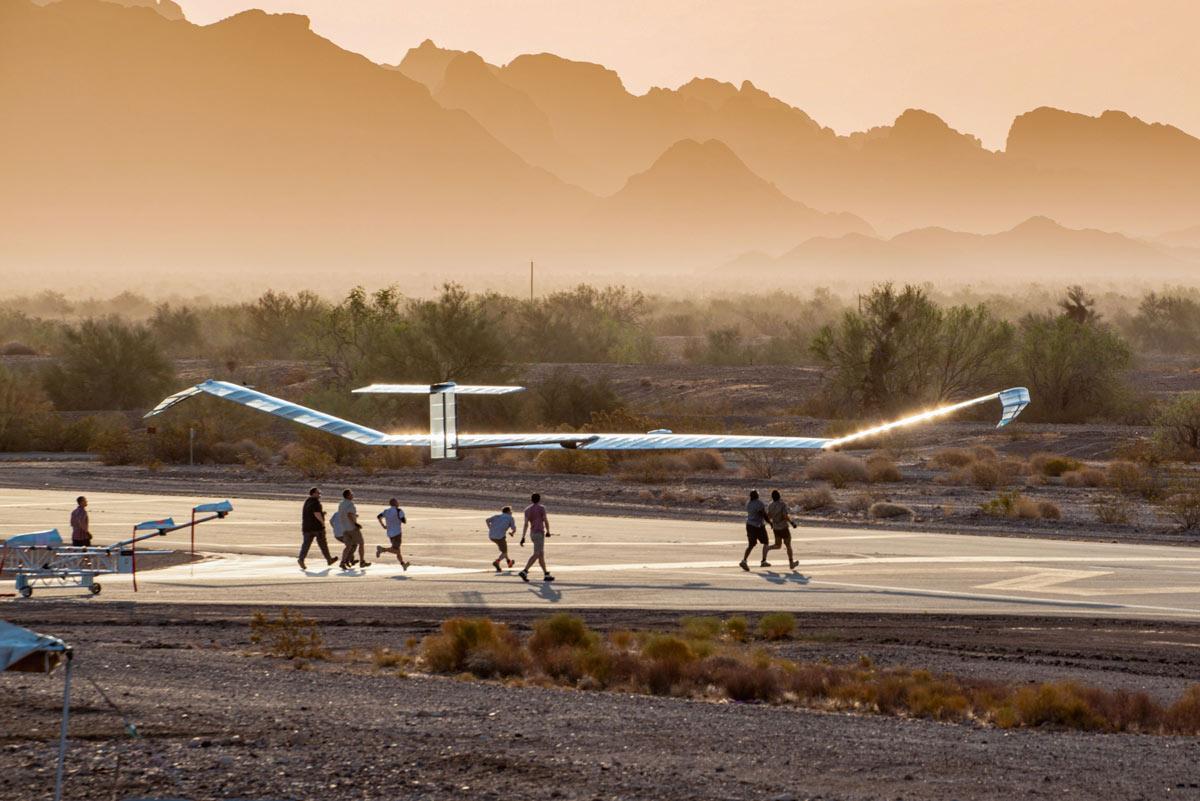 エアバスのソーラー無人機「ゼファーS」 クラスの高度世界記録を樹立