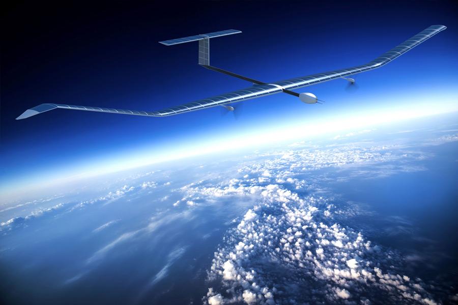 エアバスのソーラー無人機ゼファーS(画像:Airbus)