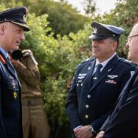ドイツ空軍制服組トップ 共同訓練に合わせイスラエルを訪問