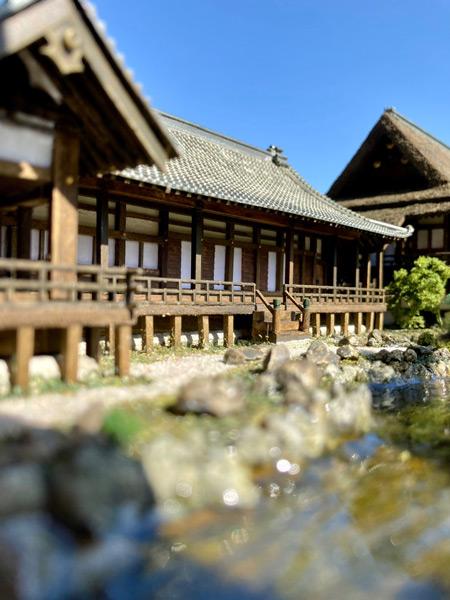 池から見た表書院(宗秀斎さん提供)