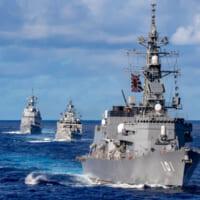 海上自衛隊参加の4か国共同訓練「マラバール」第2フェーズがス…