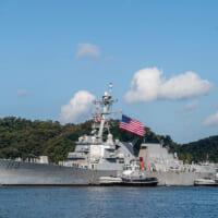 アメリカ海軍 横須賀基地に駆逐艦ラルフ・ジョンソンを配備