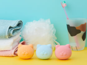 NEKOMOTE Bath Ball(ネコモテバスボール)