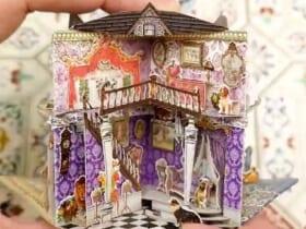 繊細かつクラシカルな雰囲気たっぷりのドールハウス絵本に驚きの声