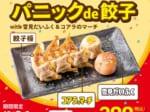 パニックde餃子with雪見だいふく&コアラのマーチ