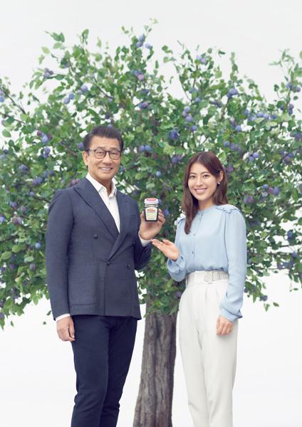 中井貴一&瀧本美織出演のミキプルーン新CM
