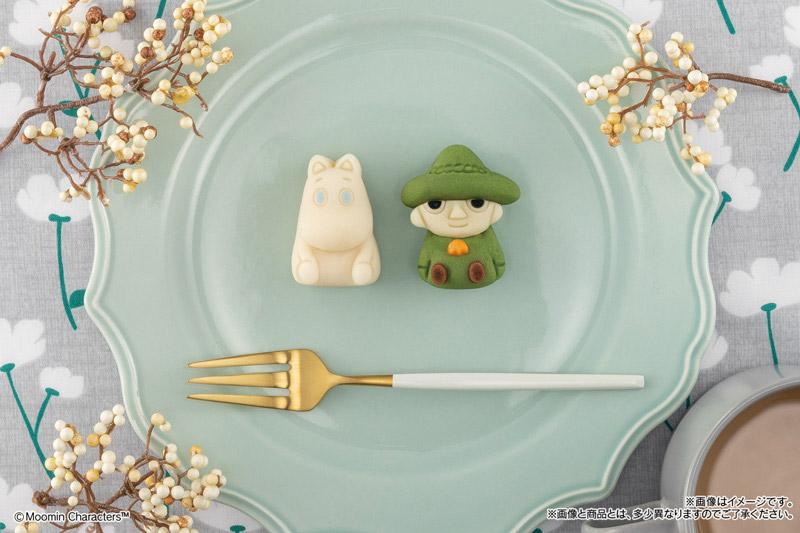ムーミン&スナフキンがかわいい和菓子に!ファミリーマートで数量限定発売