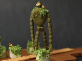 これが砂糖!?「ラピュタのロボット兵」をシュガーアートで再現