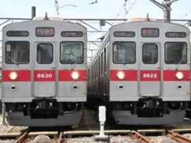 販売予定の8500系電車8630号・8622号