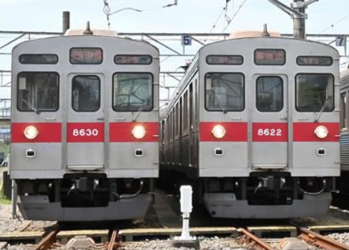 東急電鉄 引退する田園都市線8500系電車をまるごと特別販売